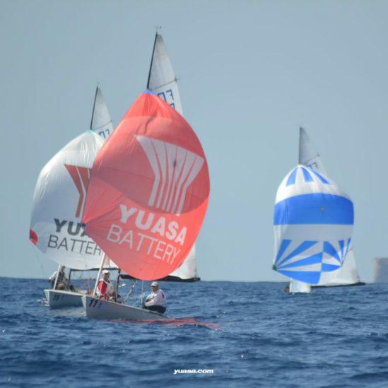 Yuasa naviga verso il successo nei Campionati del mondo Flying Dutchman